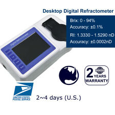 Rhino Digital Refractometer 0-94% Brix with High Accuracy & Wide Range & ATC USB