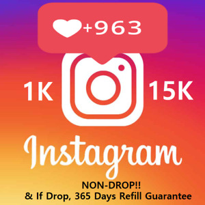 Instagram REAL HQ Love | 𝐍𝐎𝐍𝐃𝐑𝐎𝐏! | Instant! 🔥🔥| 365Days Refill
