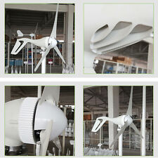 12V/24V 300W Wind Turbine Generator Aluminum Alloy Shell with Charge Controller