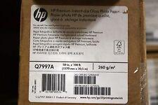 "HP Q7997A Hewlett Packard Premium Instant-Dry Gloss Photo paper 50""x100'"