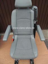 Viano Vito V-Klasse Einzelsitz  Teilleder grau W447 W639 Sitz Sitze viano-sitze