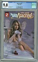 Un/Sacred UnSacred #2 CGC 9.8 Comic Kingdom of Canada Edition Carla Cohen Cover