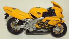 Maisto Die Cast Honda Motorcycle in Yellow
