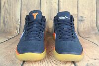 Nike Air Kobe Bryant A.D. Mid Rise Obsidian White Mega Blue Orange 922482-401 SZ