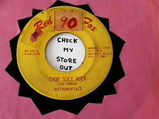 INSTRUMENTALS~ CHOP SUEY ROCK~ BIG MAD MIKE MONSTER~ RED FOX ~ INSTRUMENTAL 45