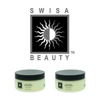 Swisa Beauty Lot Of 2 Authentic Dead Sea Body Butter Milk & Honey 8.oz