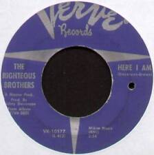 "RIGHTEOUS BROTHERS ~ here i am/So many solitaire Nights Ahead ~ US 7"" SINGLE [ref.2]"