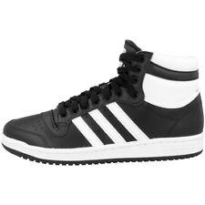Adidas Top Ten Hi Chaussures Men Hommes Loisirs High Top Sneaker Black White fv6132