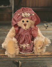 Teddy Bear 'Sigrid' Settler Bears Handmade Dress Collectable Gift 25cms NEW