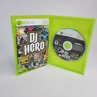 DJ Hero Game XBox 360 (Microsoft Xbox 360, 2009) Complete w/ Manual Tested/Works