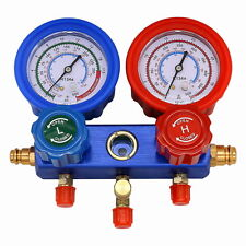 New HVAC Car A/C Manifold Gauge Refrigeration Kits Air Conditioner For R134A