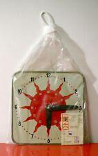 NORMA TALLINN Vintage Tin Toy Clock 1972 Orologio Giocattolo Estonia URSS USSR