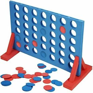 GIANT CONNECT FOUR 4 IN A ROW FAMILY PARTY GAME INDOOR OUTDOOR GARDEN TOY 101311