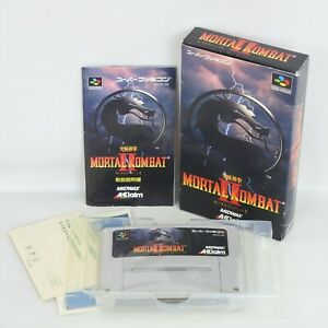 MORTAL KOMBAT II 2 Super Famicom Nintendo 6307 sf