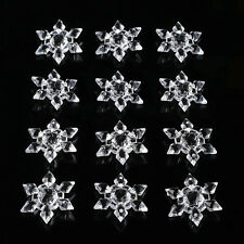 20pc Christmas Snowflakes Ornament Festival Party Tree Hanging Decoration Supply