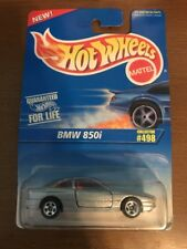 1996 Hot Wheels BMW 850i Silver #498 W/5SP's