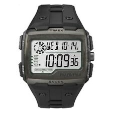 Timex TW4B02500 Mens Expedition Digital Shock Black Chrono Watch RRP £79.99