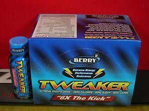 TWEAKER EXTREME ENERGY SHOT/BERRY/12 BTLS-(2 SERVINGS/BTL)/THIS STUFF IS STRONG!