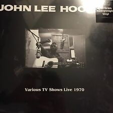 John Lee Hooker - Various TV Shows Live 1970 -  Vinyl LP - New / Sealed
