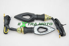 Frecce moto a LED OMOLOGATE universali Yamaha Honda Ducati Suzuki Kawasaki 132B