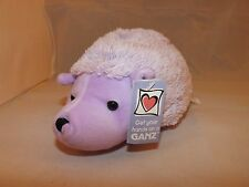 Ganz Sorbet Hedgehog Super Soft Plush Stuffed Animal -- NEW -- Purple