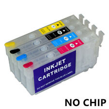 T802 T802XL Refillable Ink Cartridge For Epson Workforce WF-4720 WF-4730 WF-4734