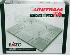 N Scale Train Kato 40-821 Unitram KT4900 Crossing Town Corner Set