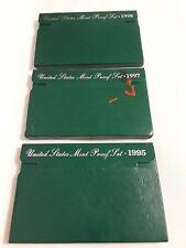 1995, 97 & 98 US Mint Proof Set