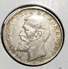 1900 1 Leu Silver Romania . Better grade
