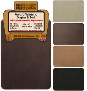 SUEDE XL MastaPlasta Repair Self-Adhesive Instant Repair Patch 28x20cm. Fix rips