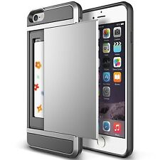 iPhone 6/6s Phone Case 4.7 Slide Card Slot Wallet ID Dual Layer Protection