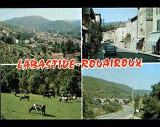 LABASTIDE-ROUAIROUX (81) RENAULT R16 aux COMMERCES , VILLAS , PONT  & PATURAGES