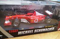 Mattel N2074 N2075 N2076 N2077 Ferrari F1 car Schumacher 2000 01 2002 2003 1:18