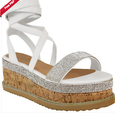 60852003889 White Espadrille Wedges in Women's Heels for sale | eBay