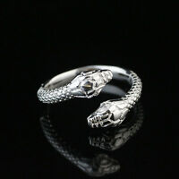 925 Solid Sterling Silver Plated Women/Men NEW Fashion Ring Gift SIZE OPEN HR439