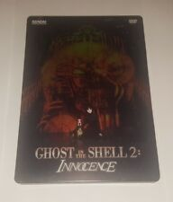GHOST IN THE SHELL 2: INNOCENCE [STEELBOOK DVD + SOUNDTRACK CD, 2008] BANDAI ENT