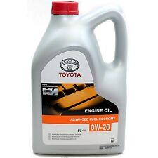 Original Toyota 5 Liter Motoröl 0W-20 API SN ILSAC GF-5 0W20 Öl Hybrid Synergy
