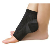2pcs Foot Anti Fatigue Compression Sleeve Relieve Swelling Varicosity Socks ′