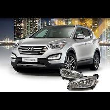 LED Daytime Running Lights DRL Fog Lamp For Hyundai Santa Fe DM Sports 2013~2015