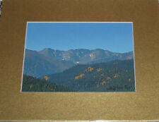 PHOTO ART PONDER POINT ARAPAHO NAT FOREST CO 5X7 MATTED 8X10 SIGNED #11/75