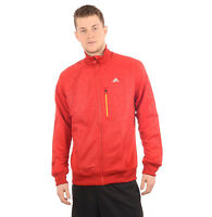 $68 New Men's adidas Red Running Track Jacket Z21243 365 T-Top M L Medium Large