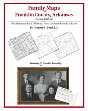 Family Maps Franklin County Arkansas Genealogy AR Plat