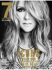 7 HOLLYWOOD Magazine 1 Icons CELINE DION Sigrid Agren ADAM LEVINE Mirte Maas NEW