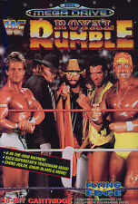 ## SEGA Mega Drive - WWF Royal Rumble / MD Spiel ##