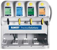 Ramsey Practical Sanitation Soap 4 Button E-Gap Chemical Dispensing Unit 6312900