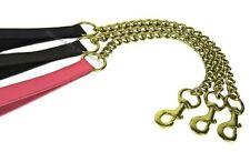 Laisses noir chaîne pour chien