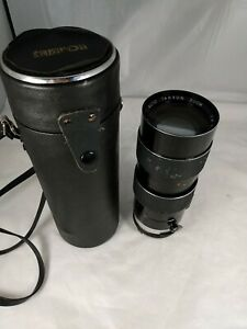 Tamron Auto Zoom Telephoto Lens Manual Focus 1:4 F = 70 ~ 220 mm For Nikon