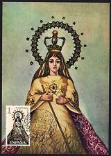 TARJETA POSTAL MAXIMA IV CENT. EVANGELIZACION DE FILIPINAS