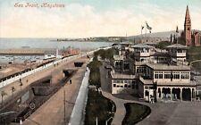 Postcard, Kingstown Dún Laoghaire Co Dublin, Sea Front, Valentine Unposted