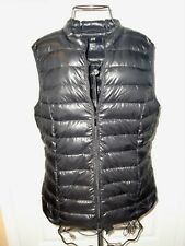 "NWOT""H&M""Black Quilted Padding Down&Feathers Pockets Vest size M SUPER Cute!"